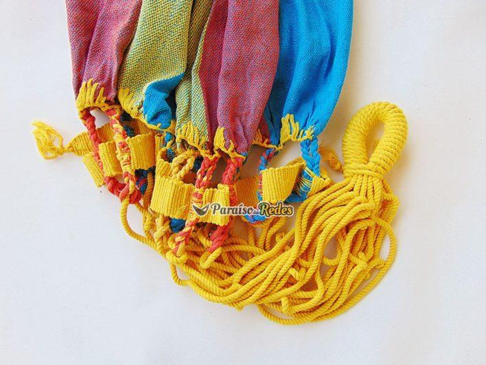 rede-de-descanso-simples-xadrez-amarelo-laranja-azul-modelo-2-a